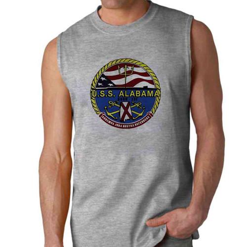 uss alabama sleeveless shirt