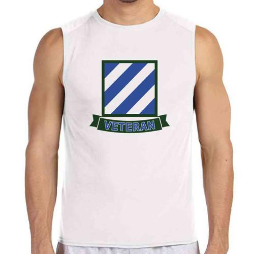 3rd infantry division veteran white sleeveless shirt