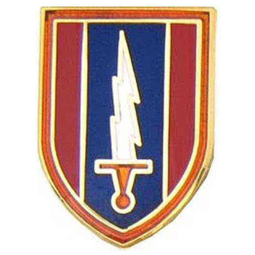 army 1st signal bde hat lapel pin