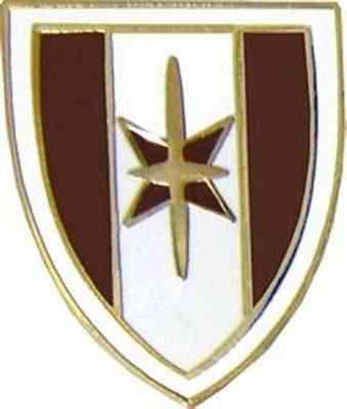 army 44th med hat lapel pin