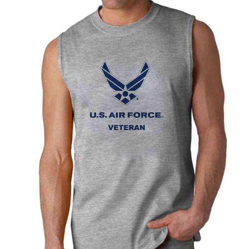 officially licensed u s air force veteran sleeveless shirt