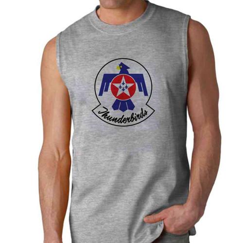 officially licensed u s air force thunderbirds color logo sleeveless shirt