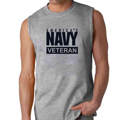 officially licensed u s navy veteran sleeveless shirt