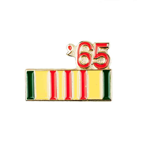 1965 vietnam hat lapel pin