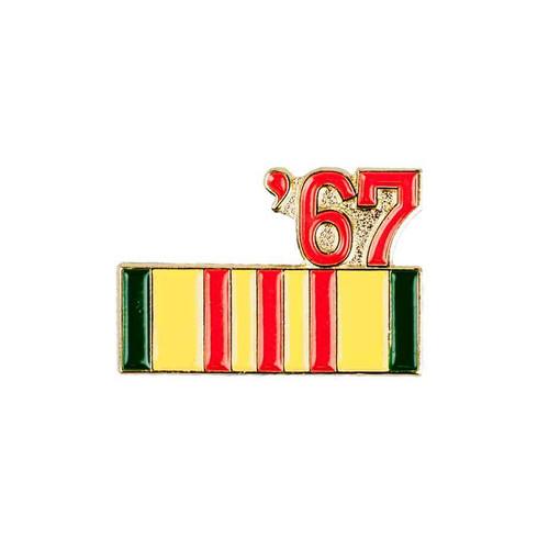 1967 vietnam hat lapel pin