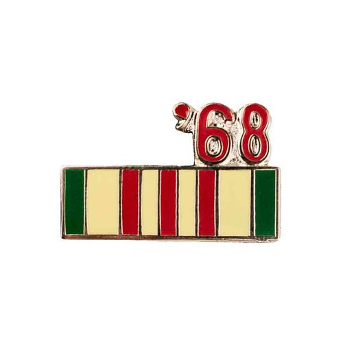 1968 vietnam hat lapel pin