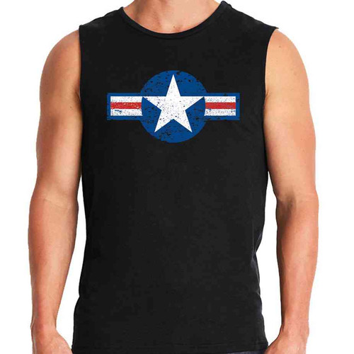 vintage air force special edition sleeveless shirt