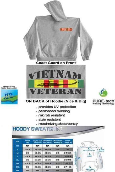 coast guard vietnam vetchopper hoodie sweatshirt