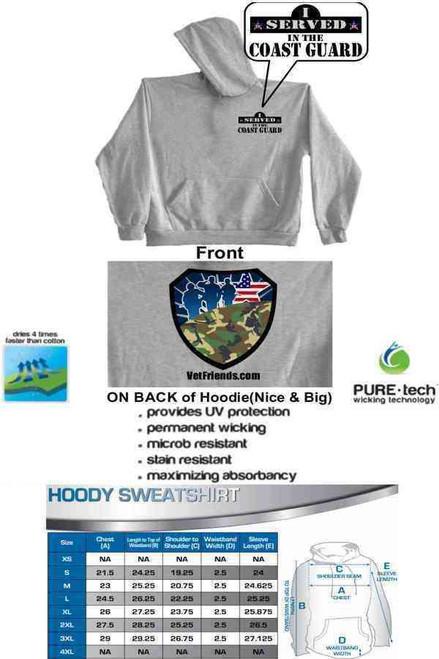 i served in coast guard vetfriends hoodie sweatshirt