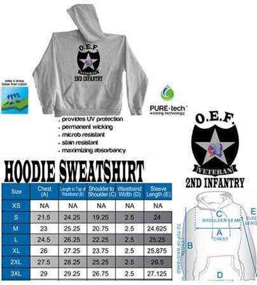 u s army 2nd infantry division oef afghanistan veteran hoodie sweatshirt