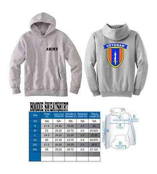 army 1st signal brigade hoodie sweatshirt