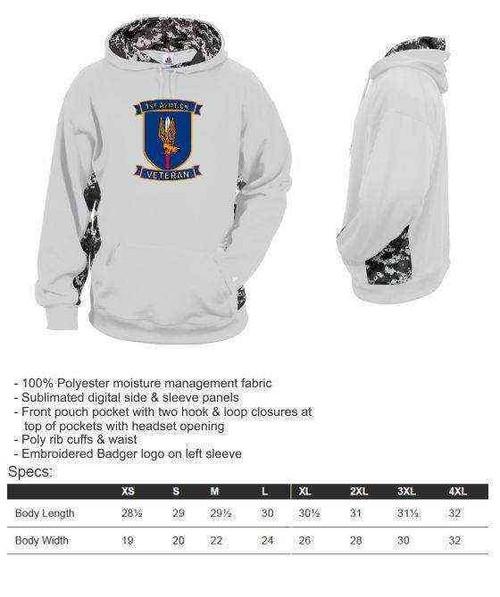 u s army 1st aviation brigade veteran perf digital camo hooded sweatshirt
