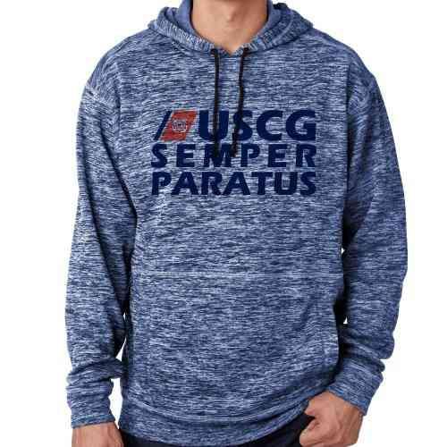 us coast guard semper paratus fleck hoodie