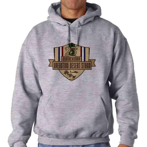 desert storm 25th anniversary hoodie sweatshirt