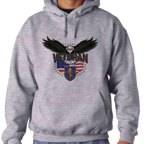 1st aviation w eagle hooded sweatshirt