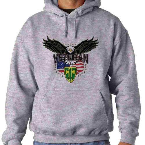 18th military police brigade w eagle hooded sweatshirt
