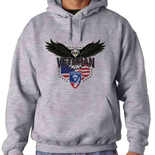 187th infantry w eagle hooded sweatshirt