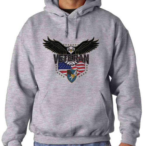 army security agency w eagle hooded sweatshirt