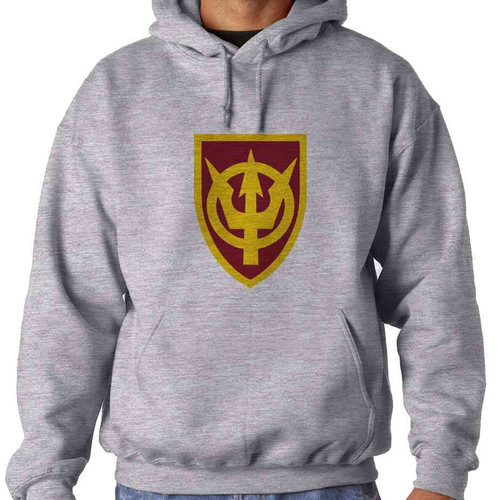 4th transportation command hooded sweatshirt