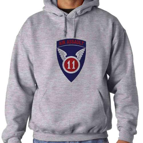 11th air assault hooded sweatshirt