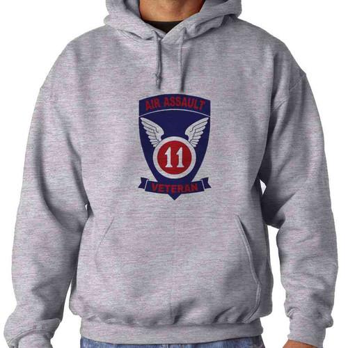 11th air assault veteran hooded sweatshirt