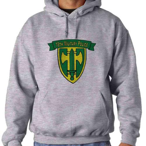18th military police brigade hooded sweatshirt