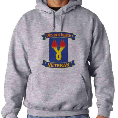 196th light infantry brigade veteran hooded sweatshirt