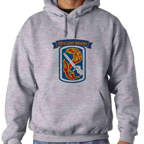 198th light infantry brigade hooded sweatshirt