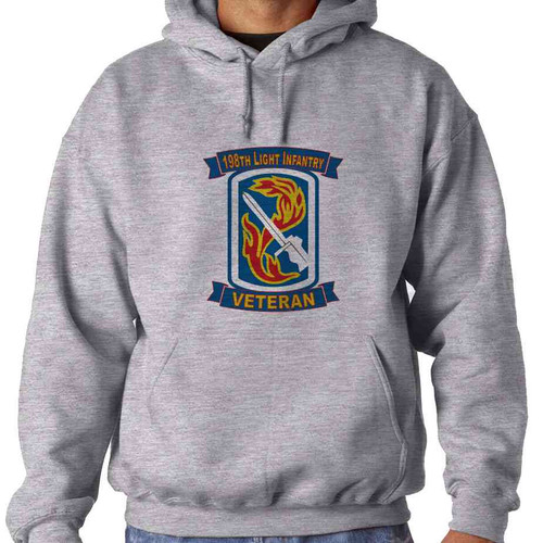 198th light infantry brigade veteran hooded sweatshirt