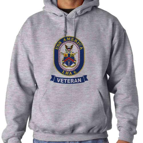 uss america veteran hooded sweatshirt