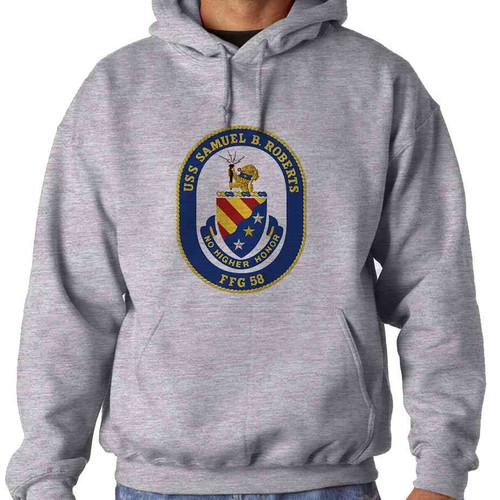 uss samuel b roberts hooded sweatshirt