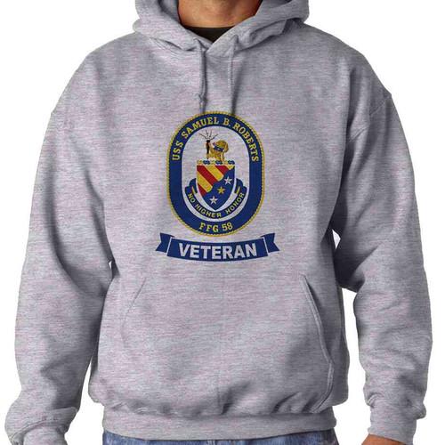uss samuel b roberts veteran hooded sweatshirt