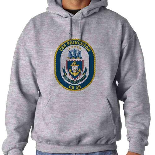 uss princeton hooded sweatshirt