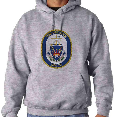 uss decatur hooded sweatshirt