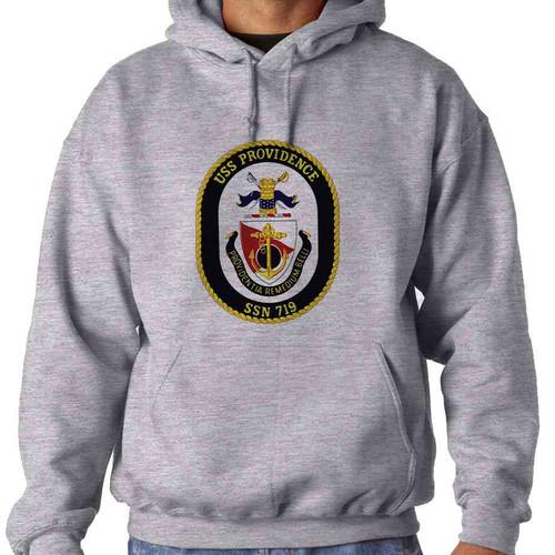 uss providence hooded sweatshirt