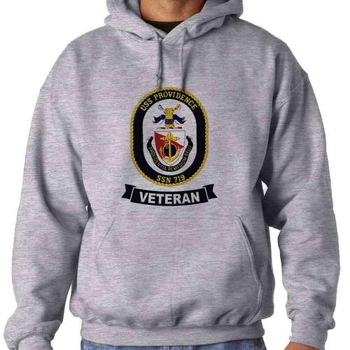 uss providence veteran hooded sweatshirt