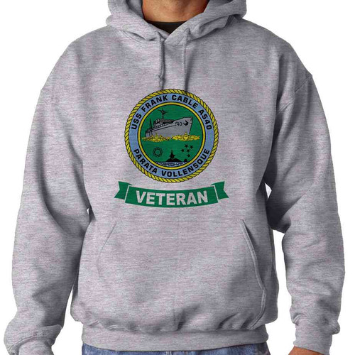 uss frank cable veteran hooded sweatshirt
