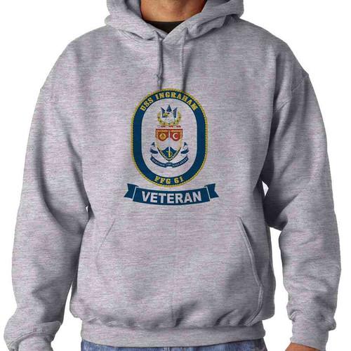 uss ingraham veteran hooded sweatshirt