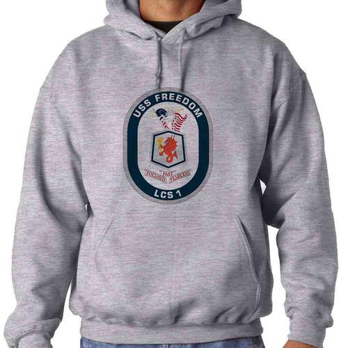 uss freedom hooded sweatshirt