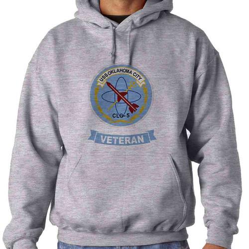 uss oklahoma city veteran hooded sweatshirt