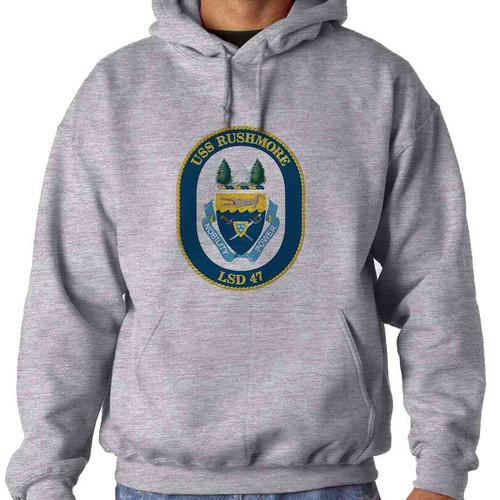uss rushmore hooded sweatshirt