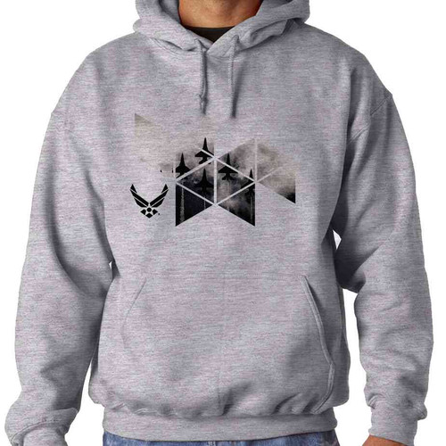 officially licensed u s air force jets hooded sweatshirt