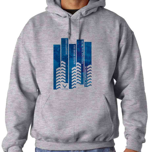 officially licensed u s air force service before self hooded sweatshirt