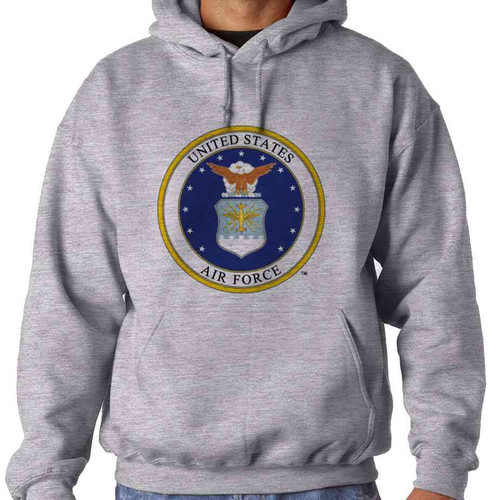 united states air force eagle seal hoodie sweatshirt officially licensed
