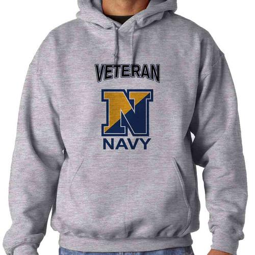 u s navy n veteran hoodie sweatshirt officially licensed
