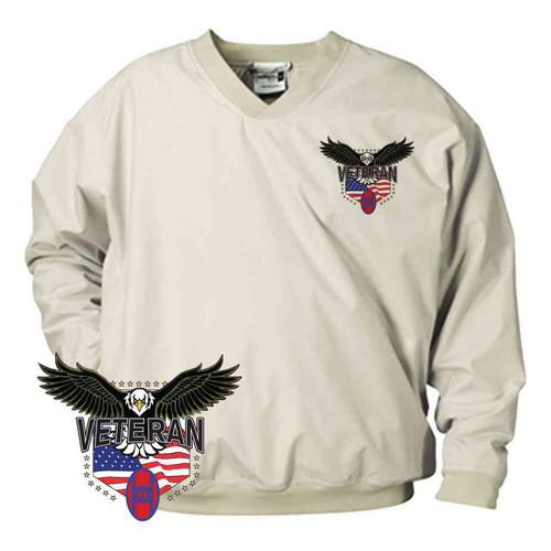 30th infantry division w eagle microfiber windbreaker