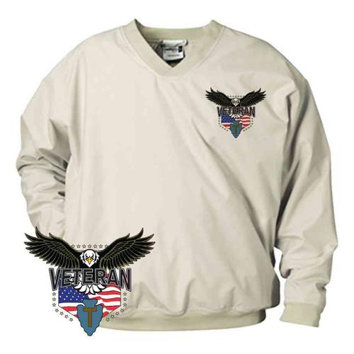 36th infantry division w eagle microfiber windbreaker