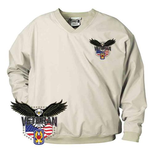 199th light infantry w eagle microfiber windbreaker