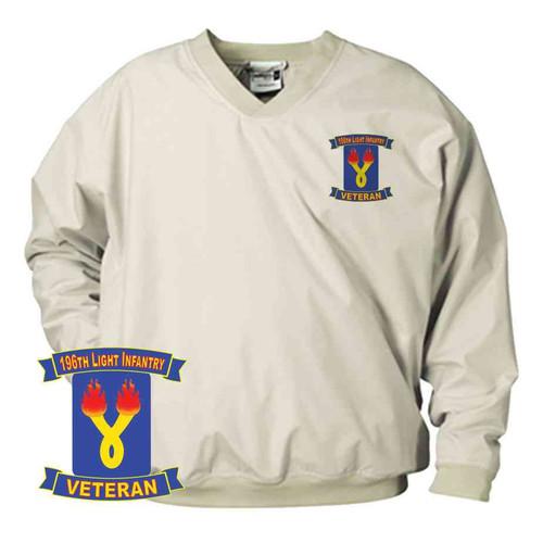 196th light infantry brigade veteran microfiber windbreaker
