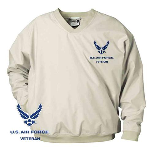 officially licensed u s air force veteran microfiber windbreaker